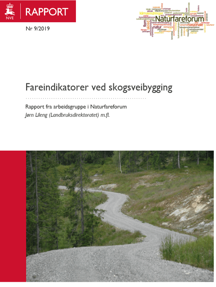 Fareindikatorer ved skogsveibygging